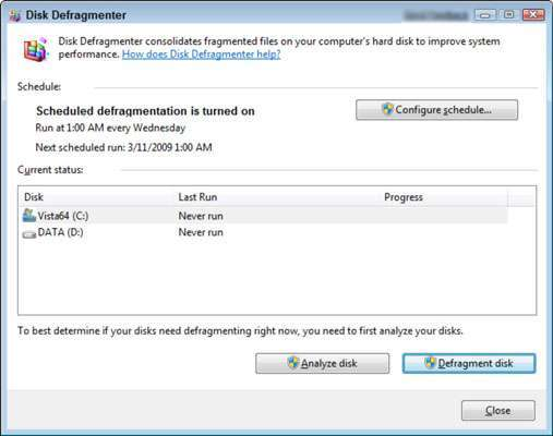 Defragment Your Computer System -