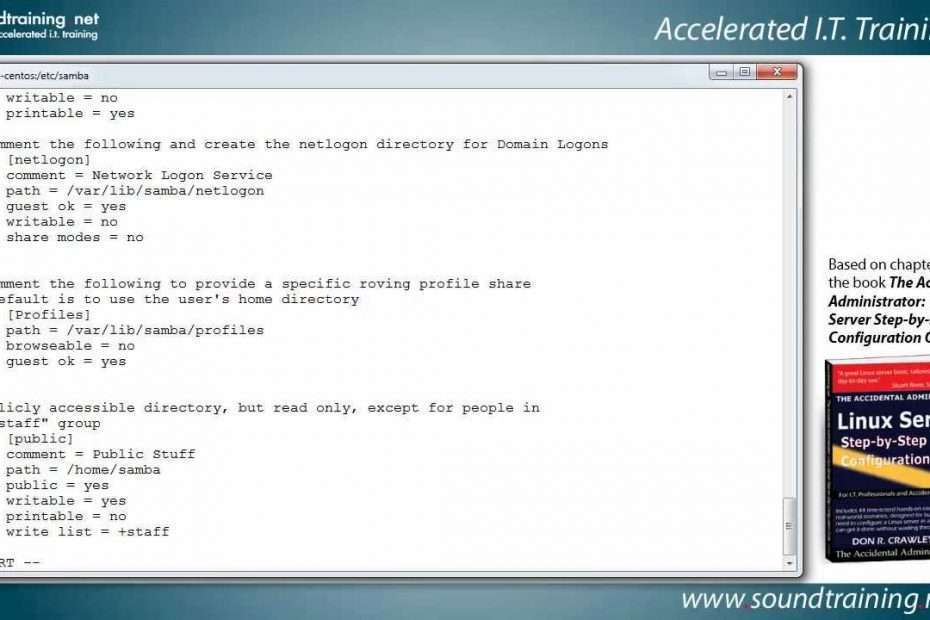 Just How to Set up SAMBA on a Linux Web Server -