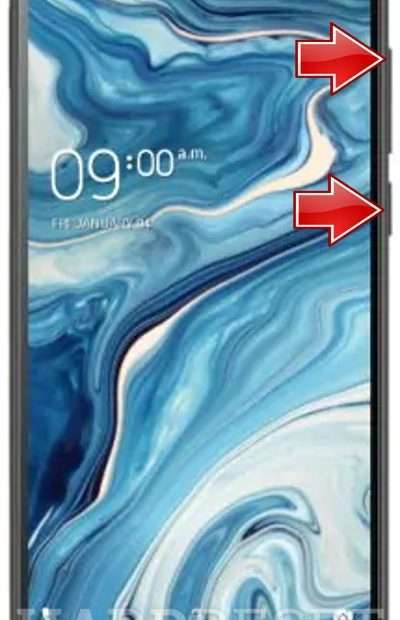 Open as well as reset Xolo Period 5X -