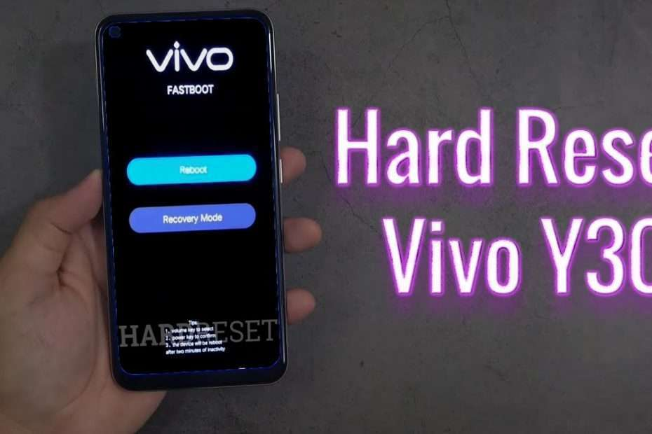 Reset as well as Unlock vivo Y30 Conventional -