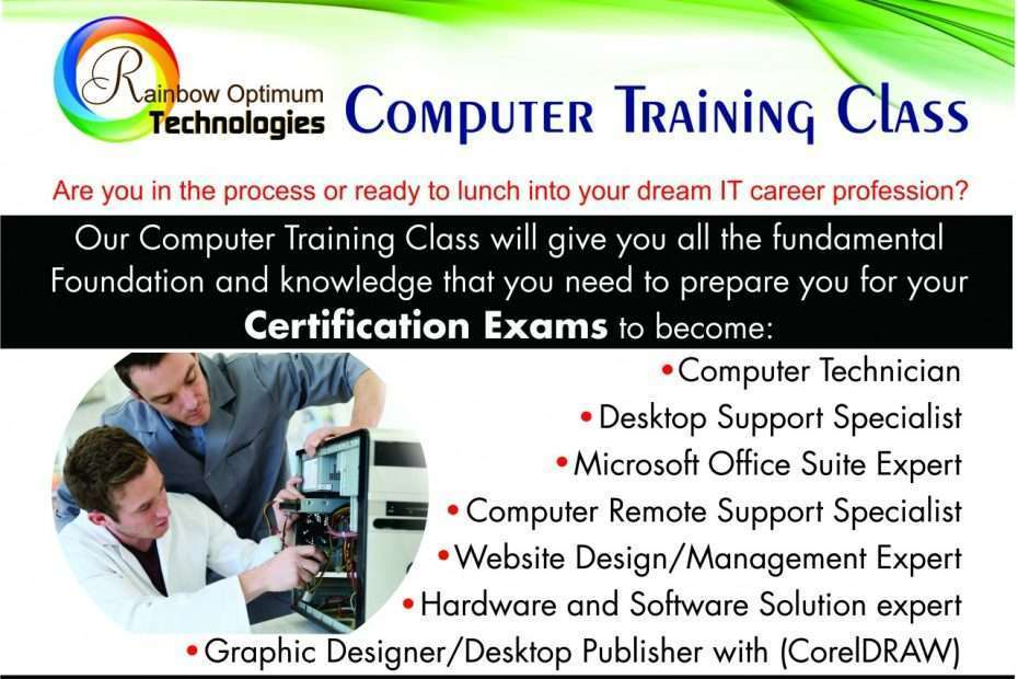 Why Do We Required Computer System Training? -